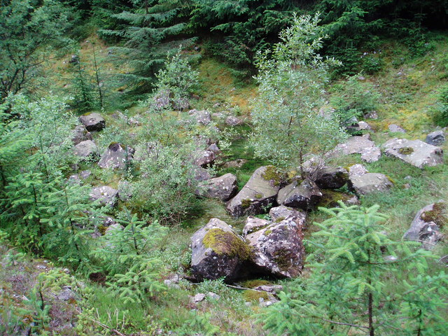 Old Quarry Remains, Smittons Forest.
