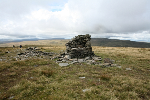 Cairn atop Lovely Seat.