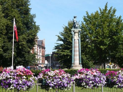 Merchant Navy Memorial, Mariners Green