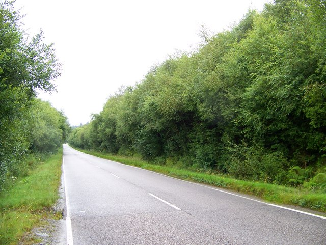 A886 in Glendaruel