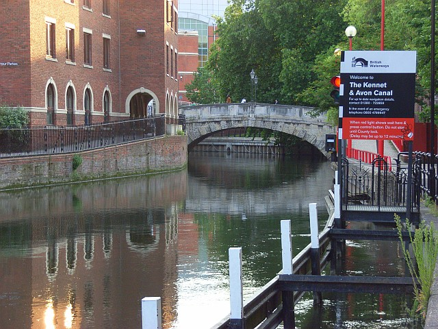 The River Kennet, Reading