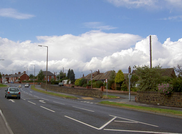 A635, Saltersbrook Road, Doncaster Road.