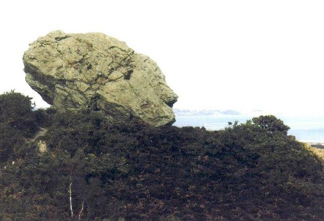 Studland: the Agglestone
