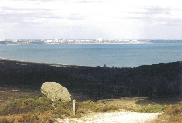 Studland: view from the Agglestone