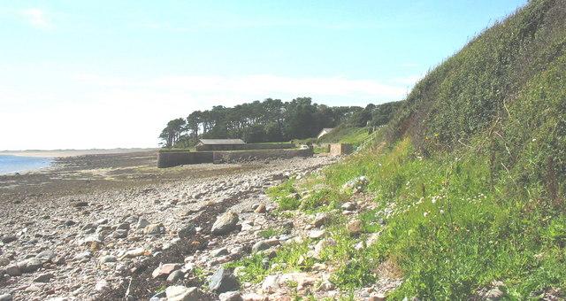 Approaching the Plas Penrhyn beach