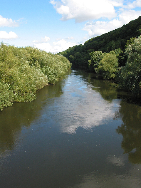 The River Wye from Kerne Bridge - looking NE