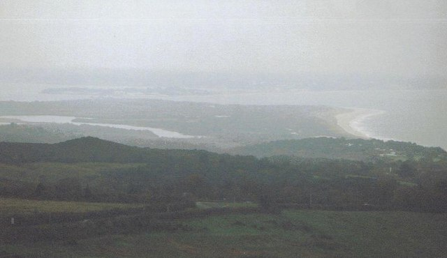 Studland Heath: a misty view