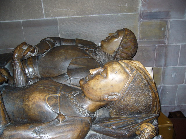Effigy in St Michael's Church