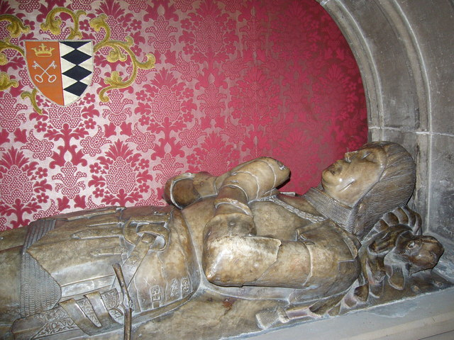 Effigy of a Knight, St Michaels Church