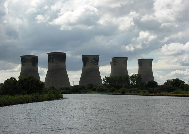 Thorpe Marsh cooling towers