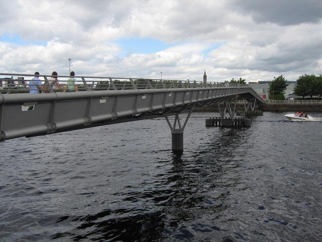 Millennium Bridge, Glasgow