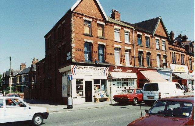 Shops in Green Lane