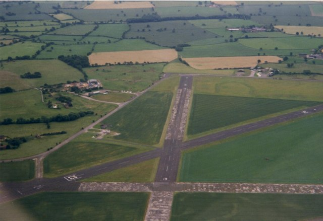 Sleap Airfield from the north