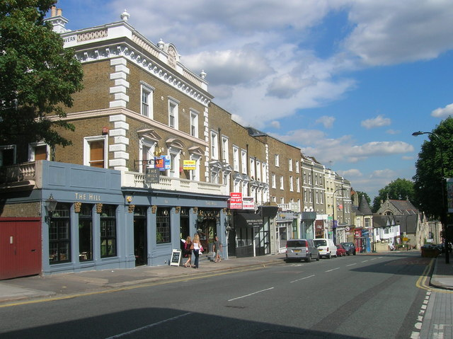 The Hill Public House, Haverstock Hill, London NW3