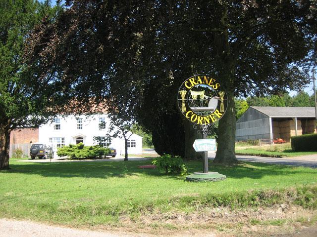 Crane's Corner village green