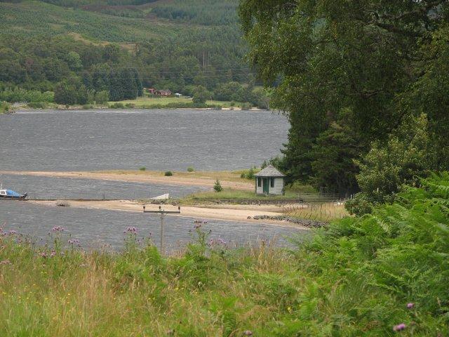 Finnart Lodge peninsula