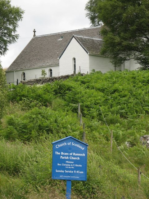 Braes of Rannoch Parish Church