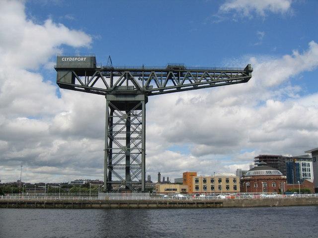 Crane and Casino, Finnieston, Glasgow