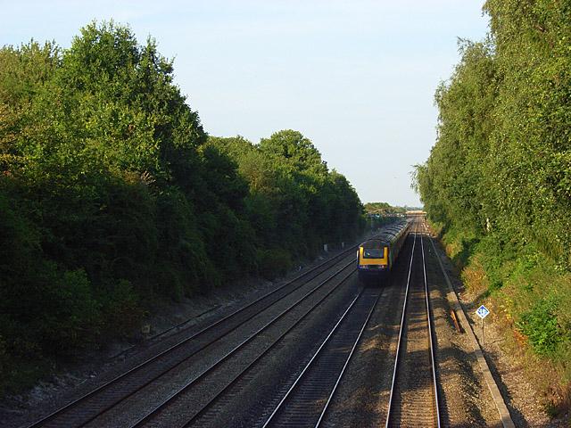 Railway at Shottesbrooke