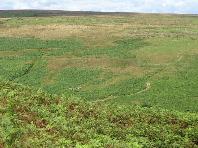 The valley of Burnhope Burn