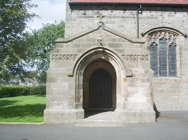 Porch, St John the Evangelist Church, Galgate