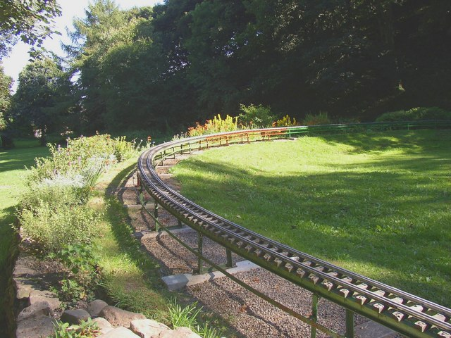 Miniature Railway, Northcliffe Woods, Shipley