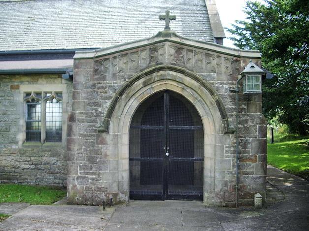 Porch, The Parish Church of St Mark, Dolphinholme