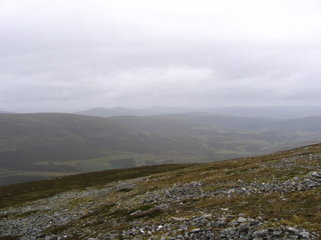 North side of Cook's Cairn