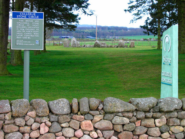 Cullerlie Stone Circle