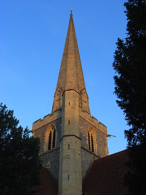 Spire, St John the Baptist's, Shottesbrooke