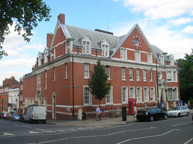 Hampstead Police Station, Rosslyn Hill, London NW3