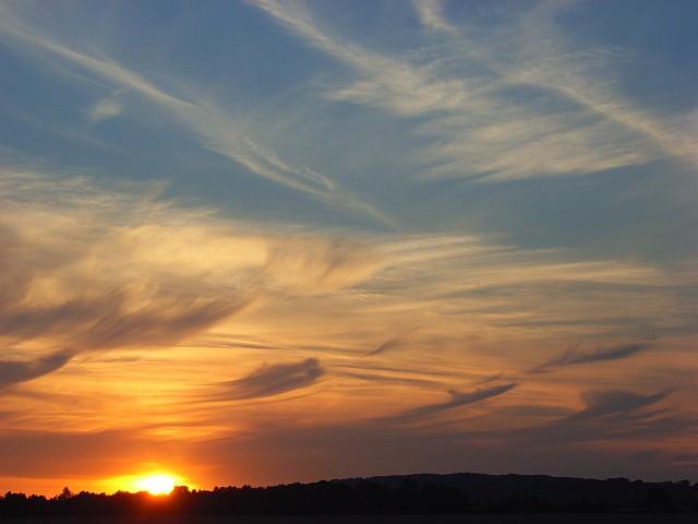Shottesbrooke sunset