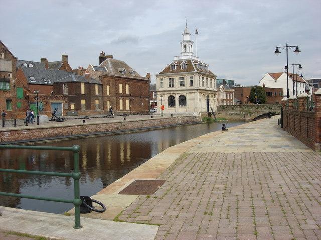 Purfleet Quay and Customs House