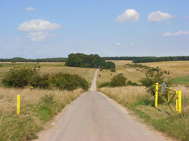 Byway, Larkhill Artillery Range
