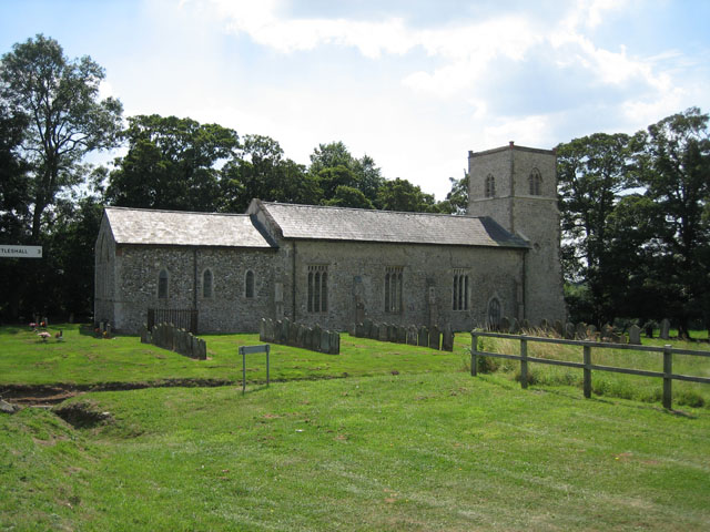 St Margaret's, Stanfield from the north