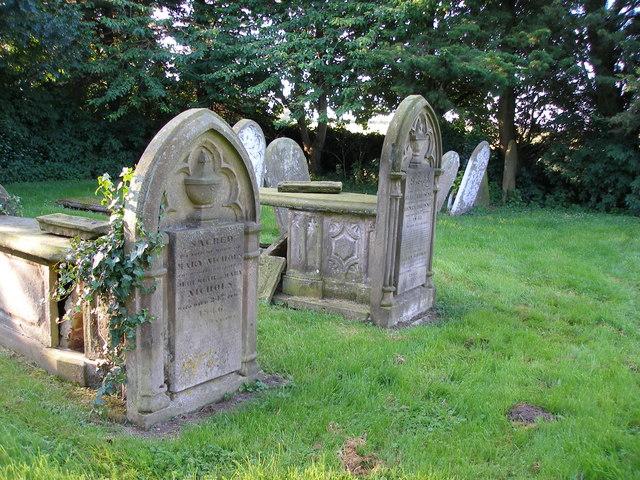 The church graveyard