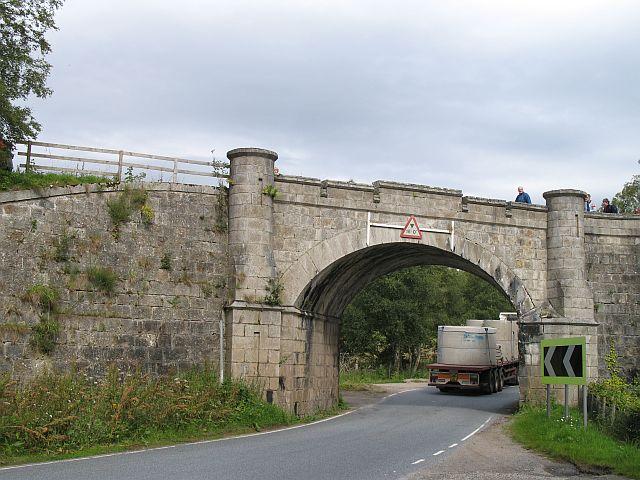 Highland Railway near Castle Grant