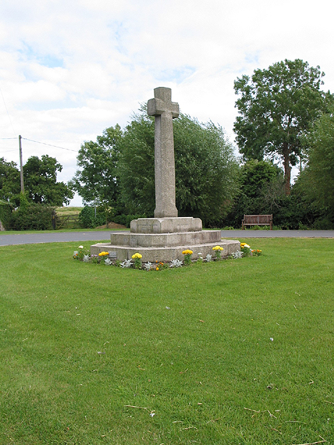 War memorial at Ashperton