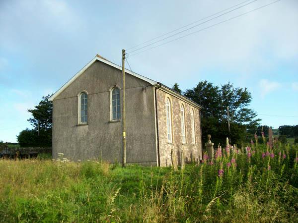 Rear of chapel