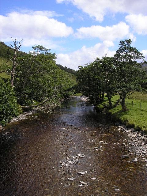 Rhidorroch River at East Rhidorroch lodge