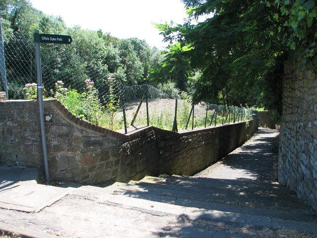 Offa's Dyke footpath signpost