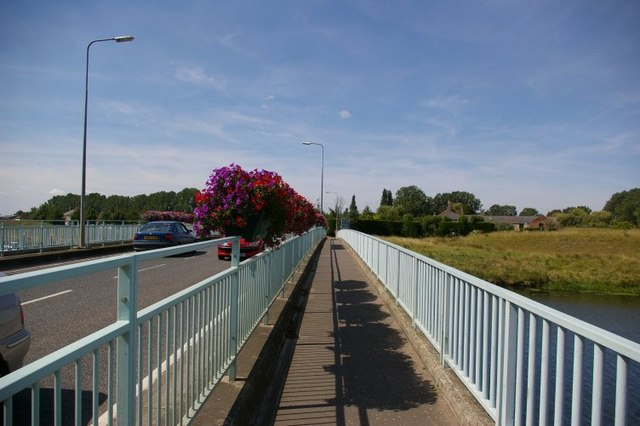 Bridge over Great Ouse Cutoff Channel