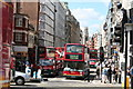 TQ3181 : Fleet  Street from Ludgate Hill by Dr Neil Clifton