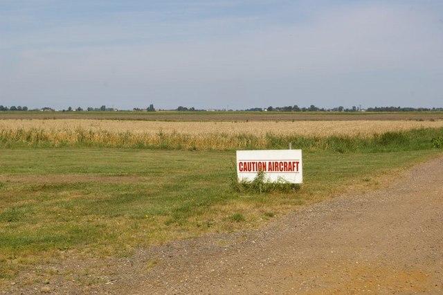 Caution: aircraft