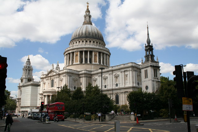 St. Paul's Cathedral from Cannon Street