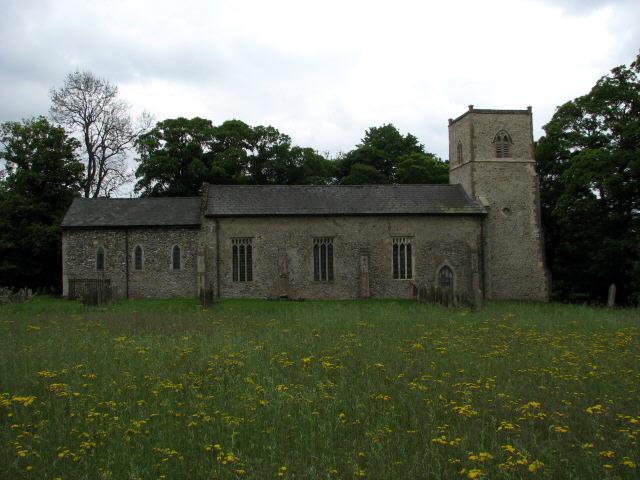 St Margaret's church, Stanfield