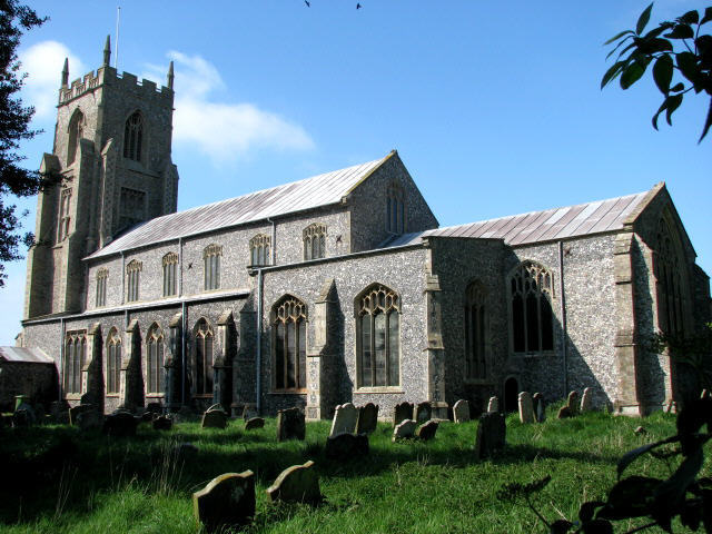 St Mary's church, North Elmham