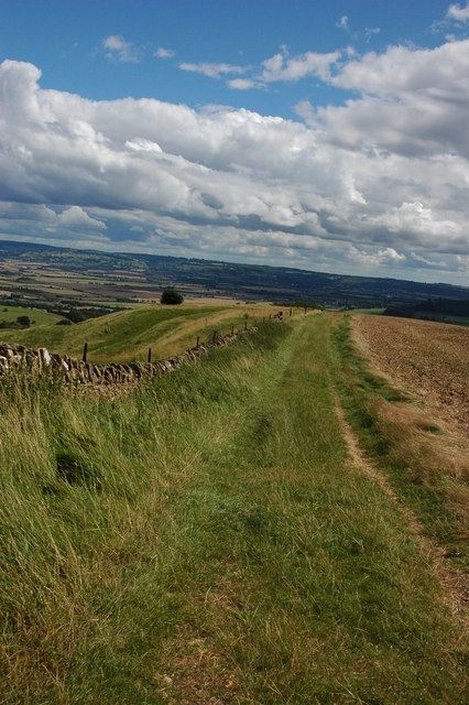 The Wychavon Way on Bredon Hill