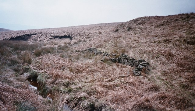 Ruined Sheepfold in West Withens Clough