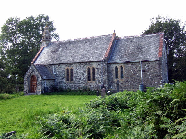 St Michael's church at Eglwyswen